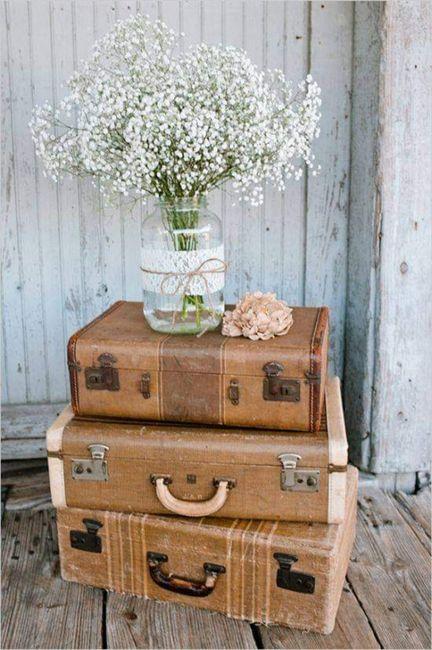 Decoración con flor paniculata 11