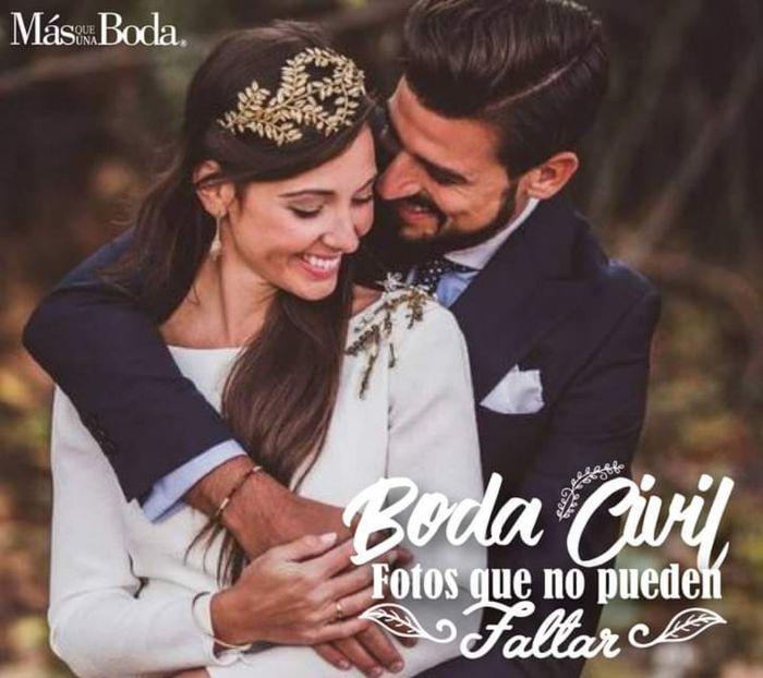 Boda civil: fotos para recordar su boda civil 1