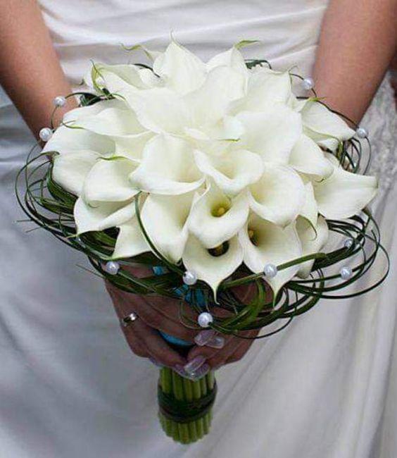 Hermosos ramos en color blanco 1