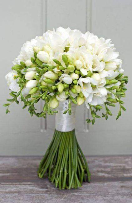 Hermosos ramos en color blanco 4