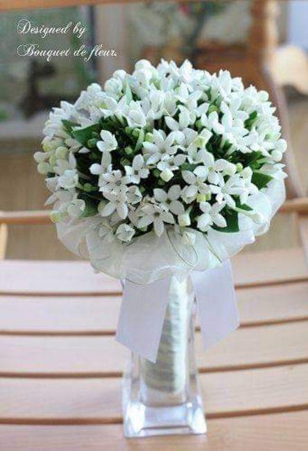 Hermosos ramos en color blanco 5