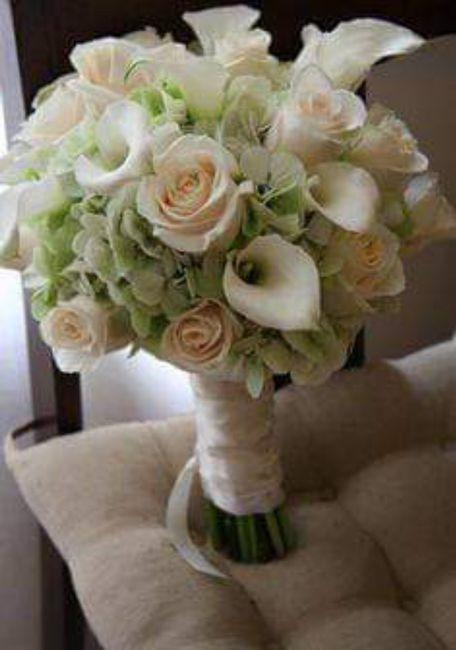 Hermosos ramos en color blanco 6