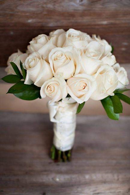 Hermosos ramos en color blanco 8