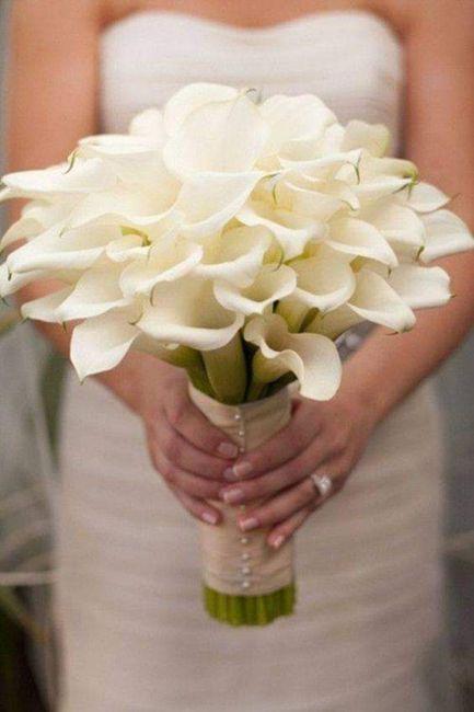 Hermosos ramos en color blanco 10