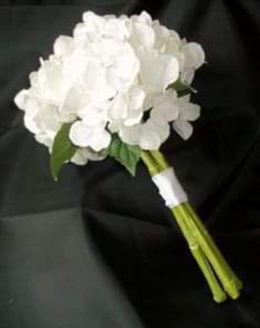 Hermosos ramos en color blanco 12