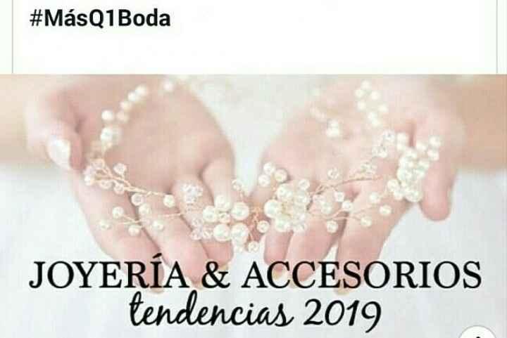 Joyería para la novia 2019 1