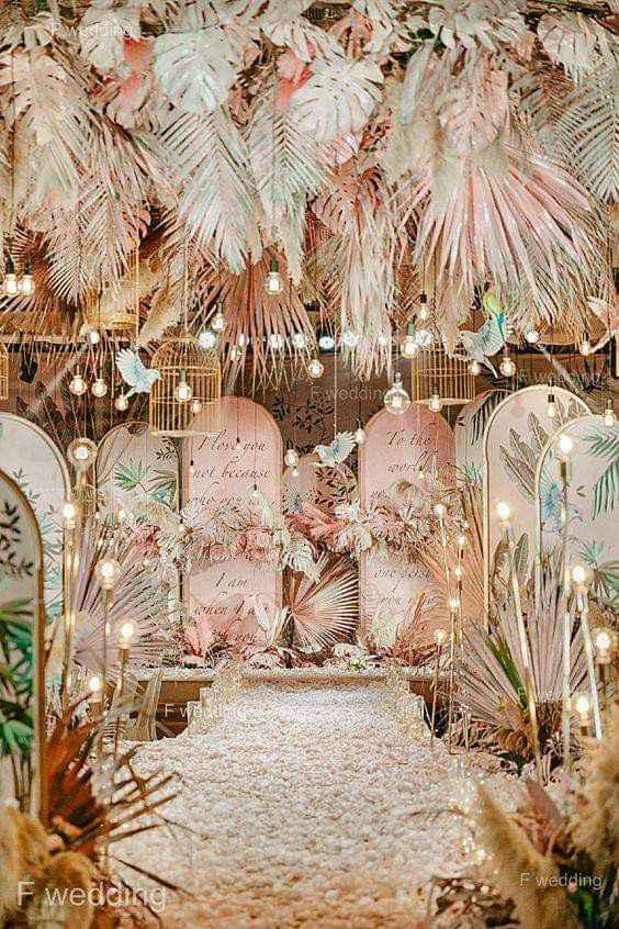 Utiliza palma seca en la decoración - 2