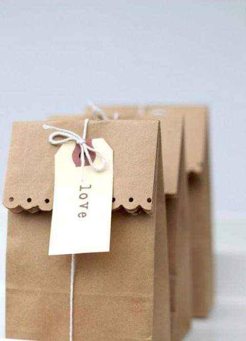 Ideas con papel Kraft - 14
