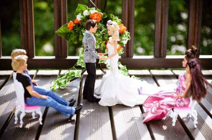 La boda de Barbie y Ken 14