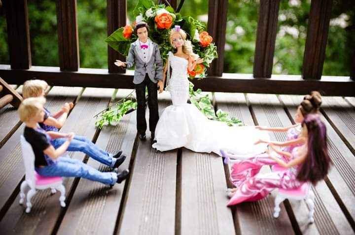 La boda de Barbie y Ken 15