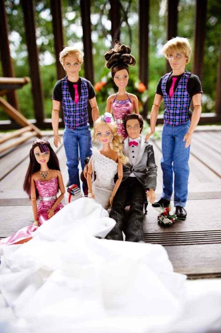 La boda de Barbie y Ken 16