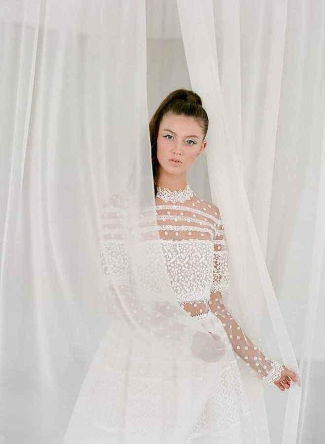 Vestidos de novia con encaje 1