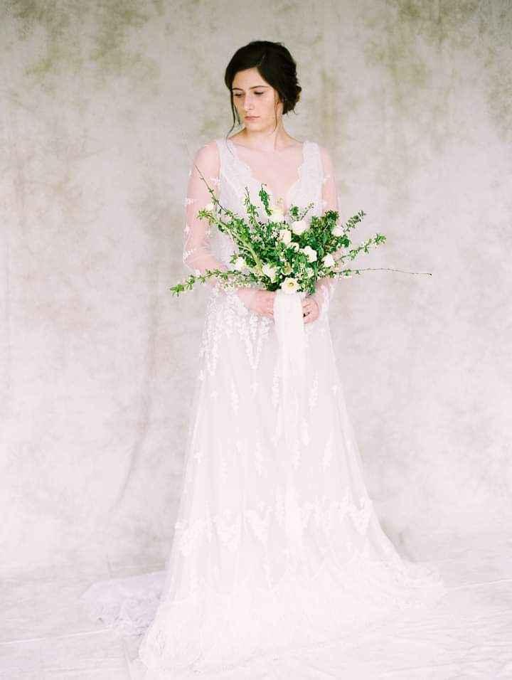 Vestidos de novia con encaje 2