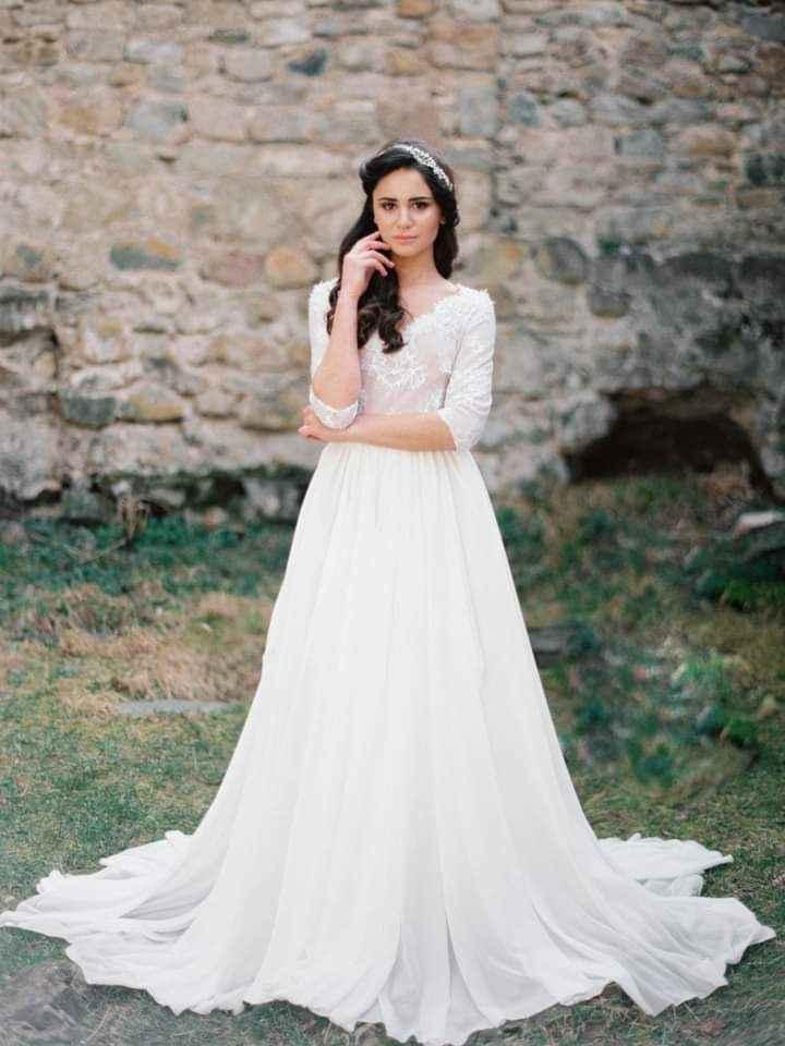 Vestidos de novia con encaje 3