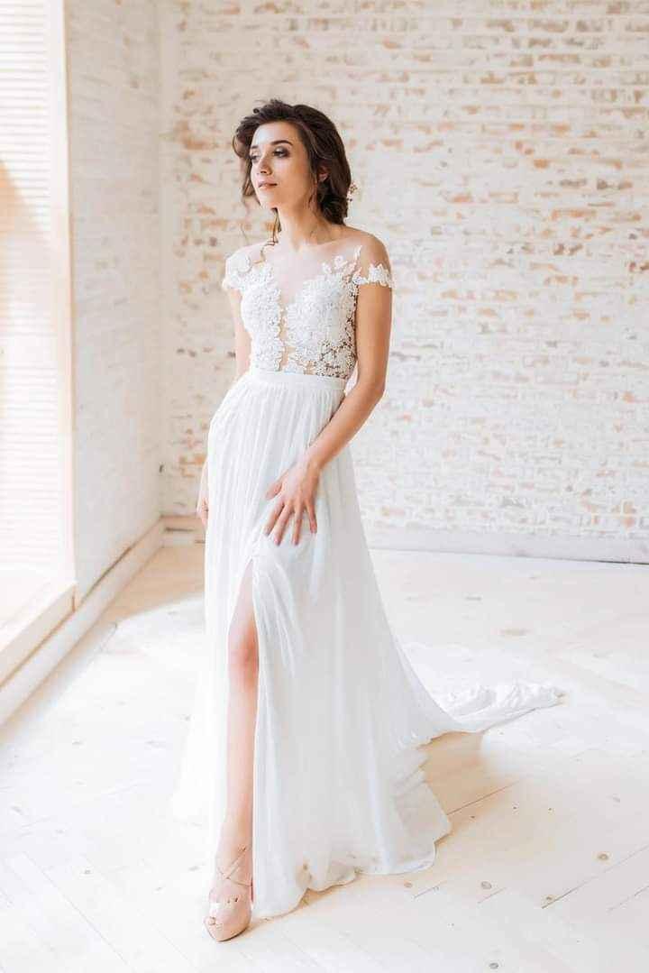 Vestidos de novia con encaje 4