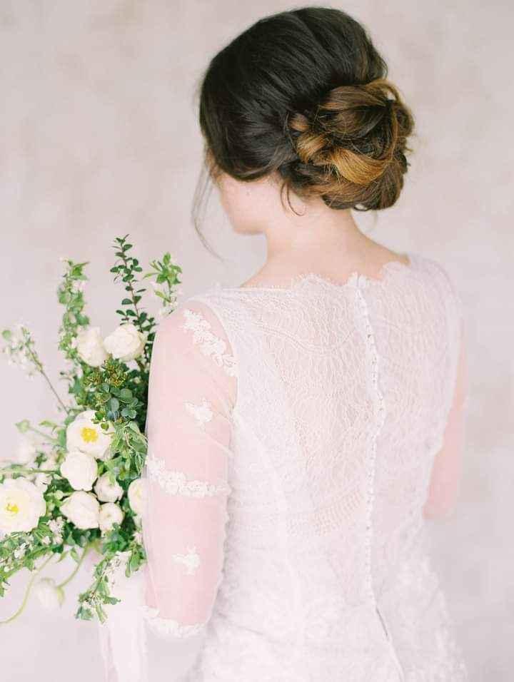 Vestidos de novia con encaje 5