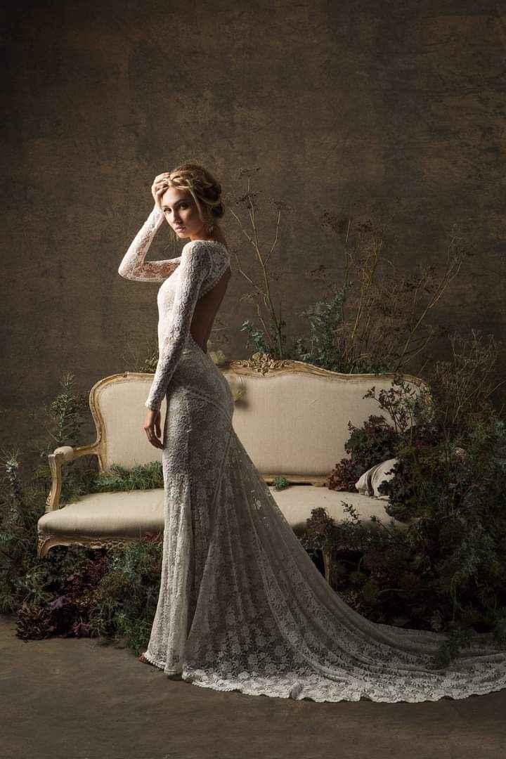Vestidos de novia con encaje 6