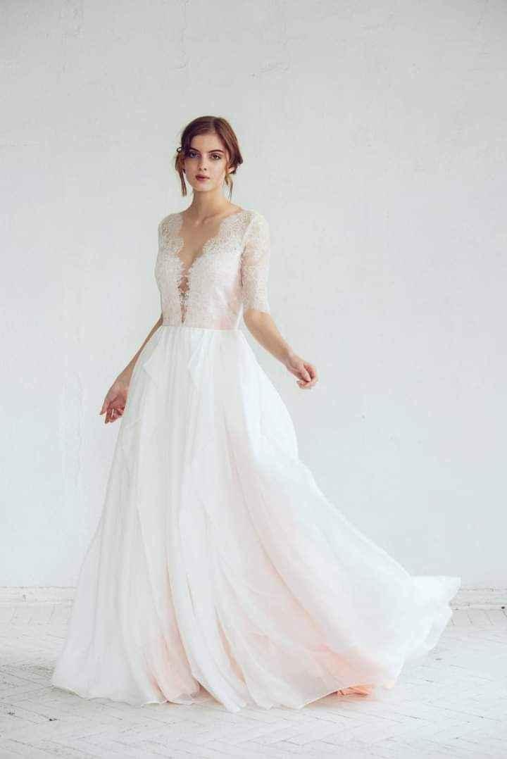 Vestidos de novia con encaje 7