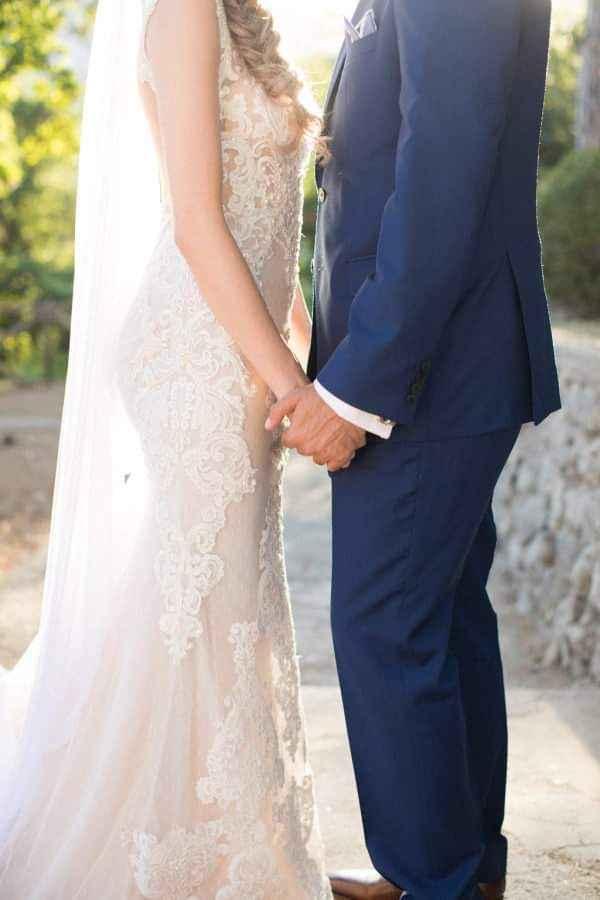 Vestidos de novia con encaje 8