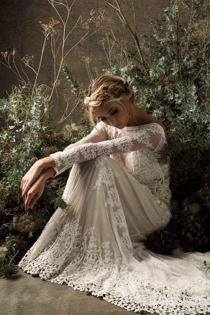 Vestidos de novia con encaje 9