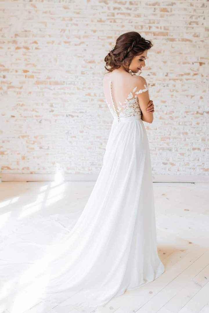 Vestidos de novia con encaje 12
