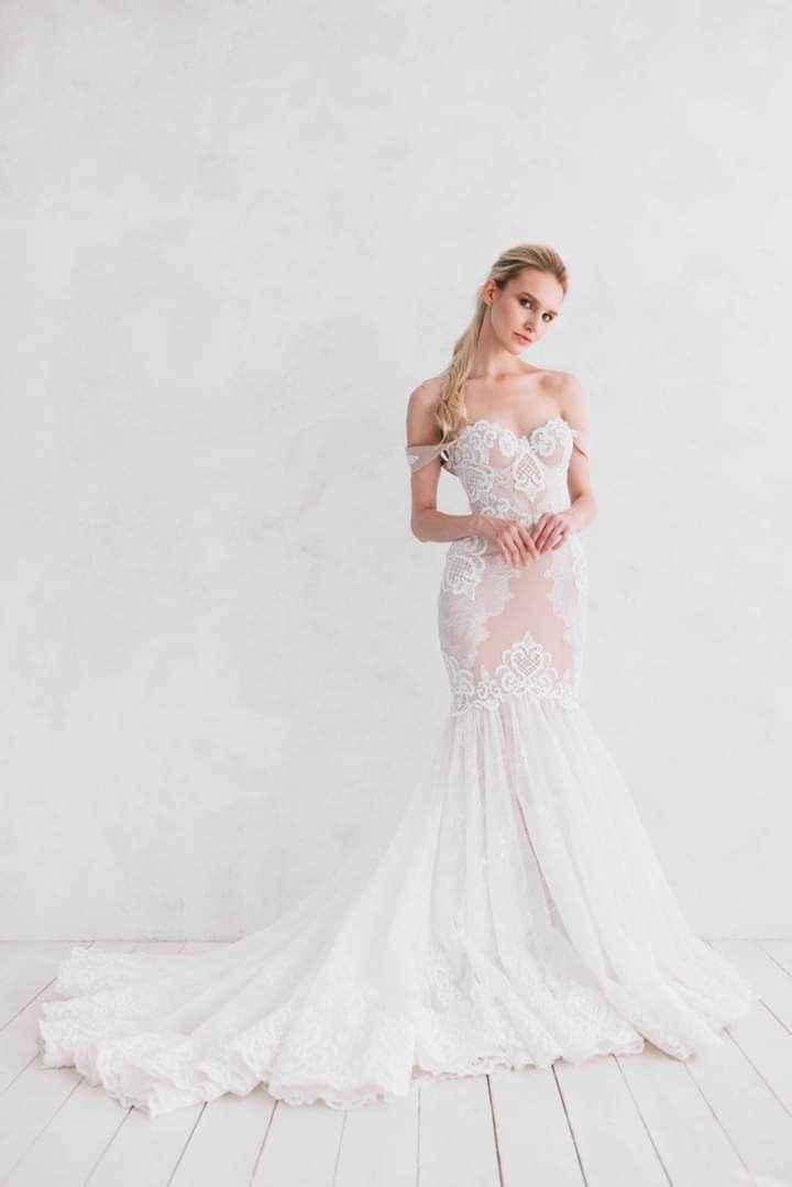 Vestidos de novia con encaje 13