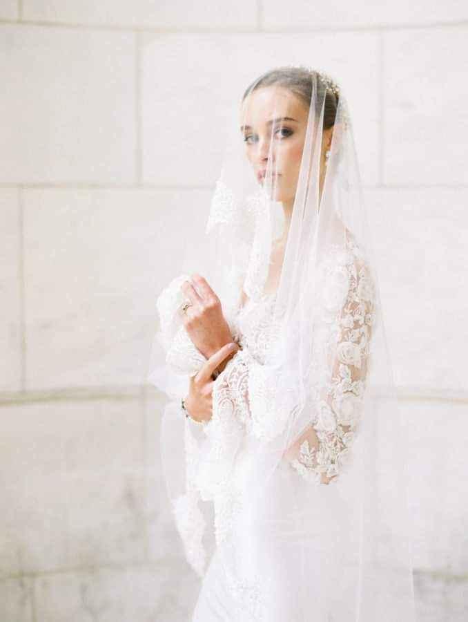 Vestidos de novia con encaje 15
