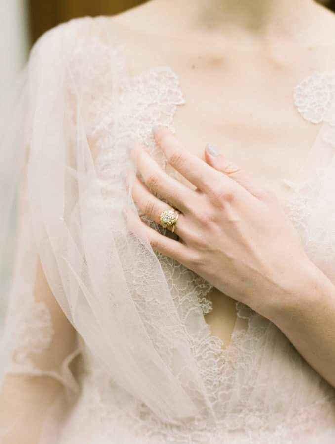 Vestidos de novia con encaje 16
