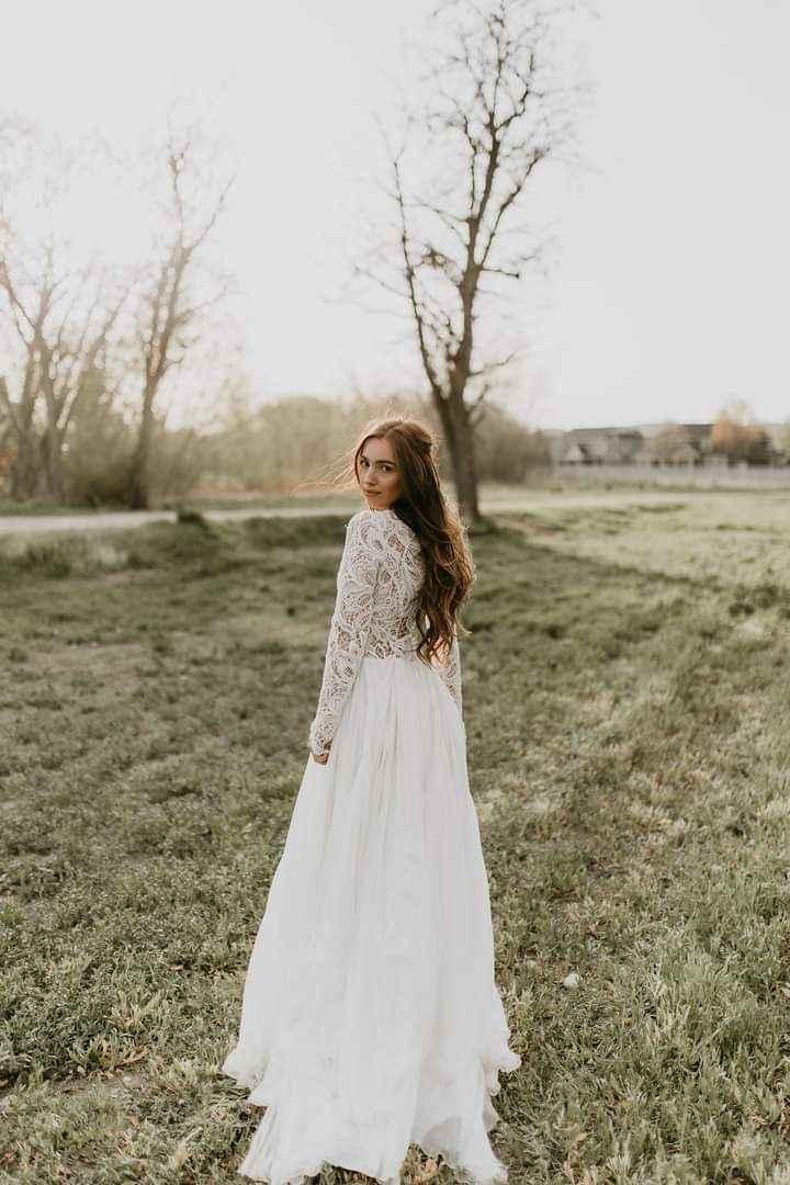 Vestidos de novia con encaje 20