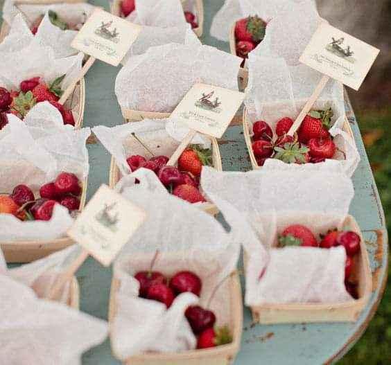 Verano: estación de frutas 2