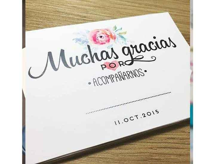Haz de tus tarjetas de agradecimiento toda una conquista 1