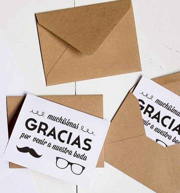 Haz de tus tarjetas de agradecimiento toda una conquista 5