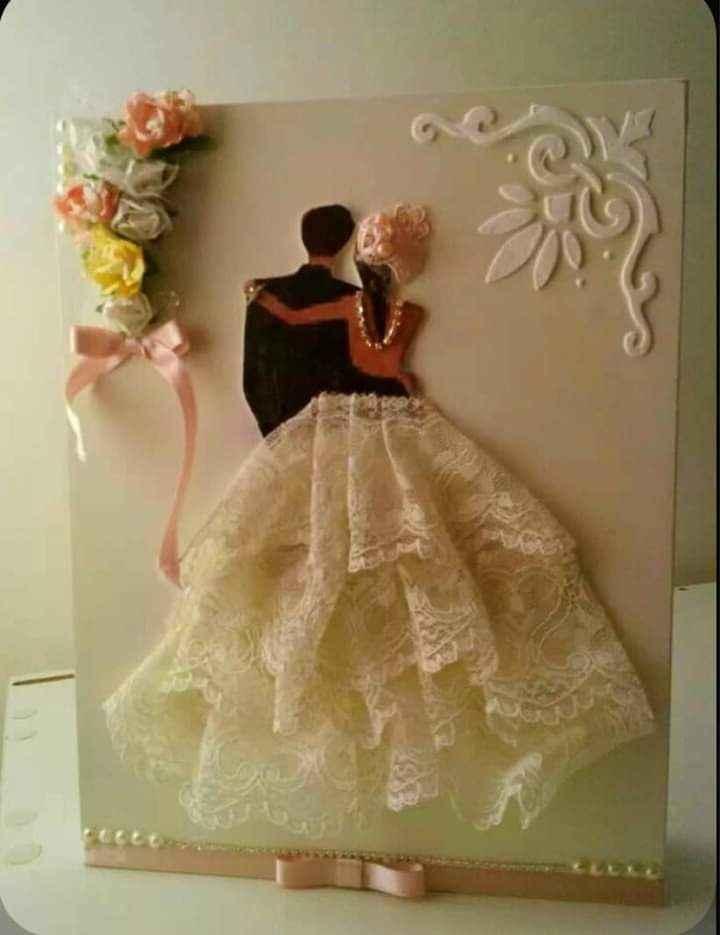 Diy en tus invitaciones que destaque el vestido 3