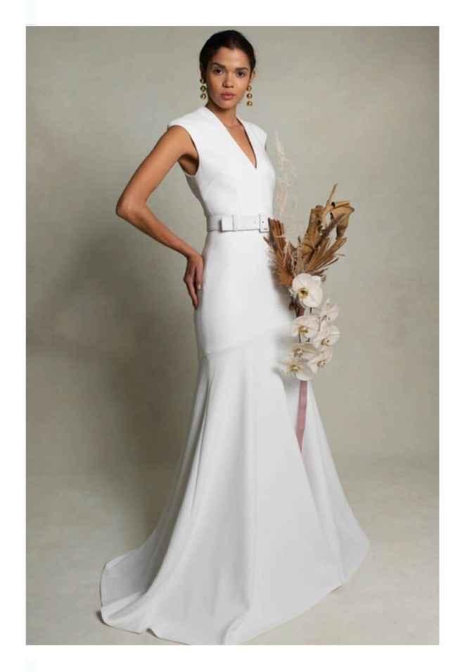 Vestidos colección otoño 2021 Rebecca Vallance 8