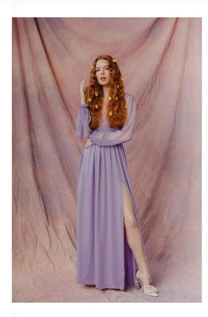 Vestidos colección otoño 2021 Lauren Wells 7