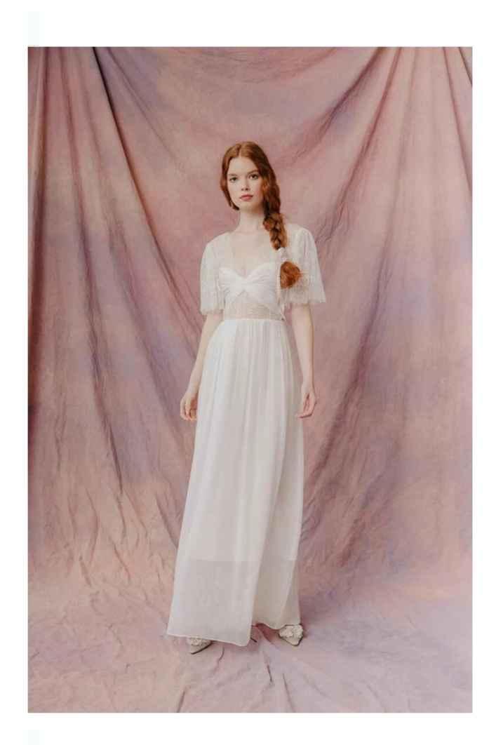 Vestidos colección otoño 2021 Lauren Wells 8