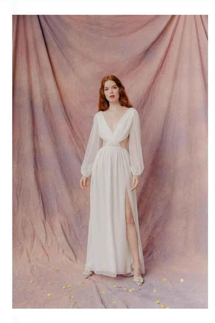 Vestidos colección otoño 2021 Lauren Wells 11
