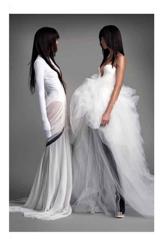Vestidos colección otoño 2021 Vera Wang 1