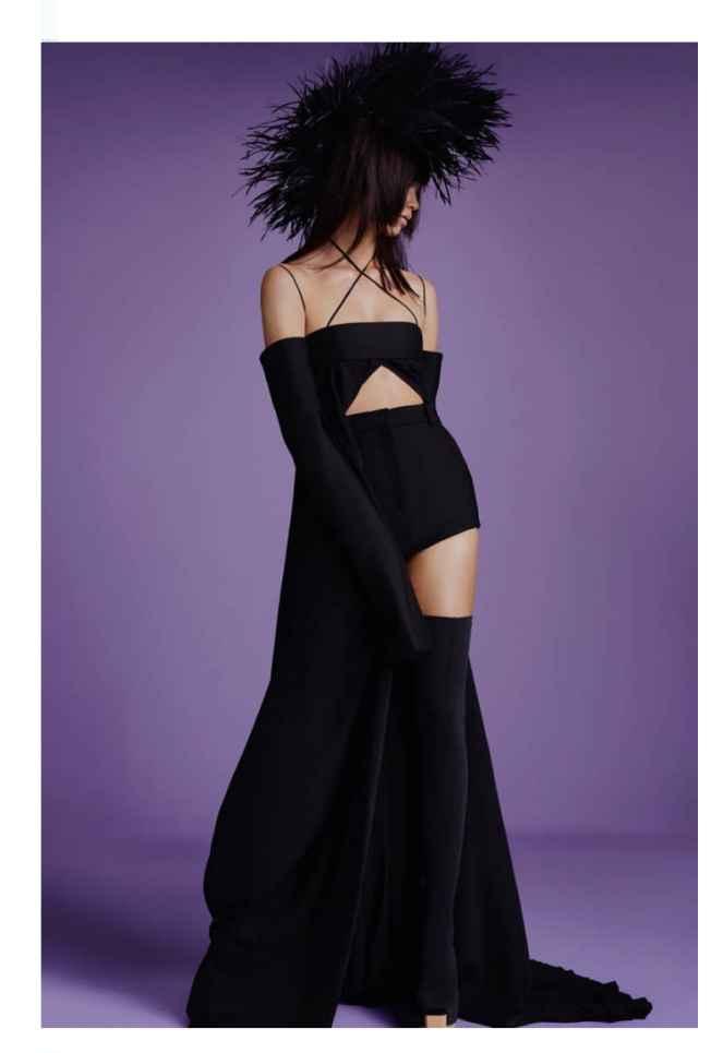 Vestidos colección otoño 2021 Vera Wang 8