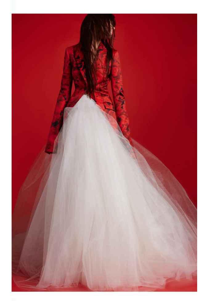 Vestidos colección otoño 2021 Vera Wang 9