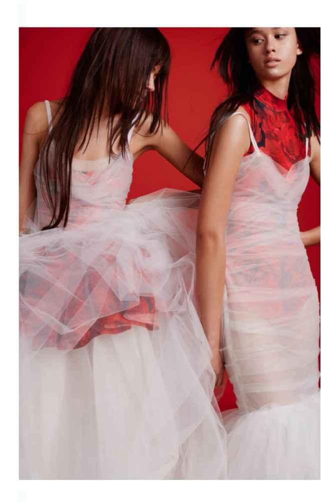 Vestidos colección otoño 2021 Vera Wang 11