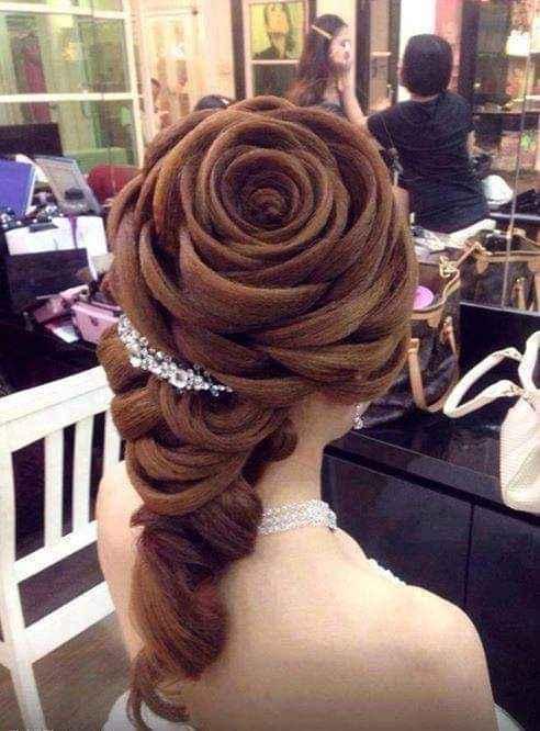 Hermosos y espectaculares peinados 2
