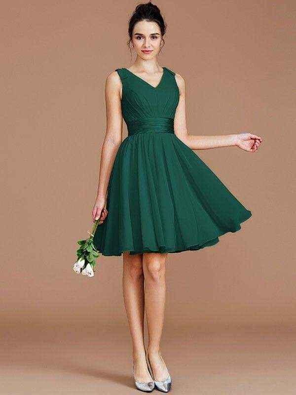 Vestidos para damas con acentos en verde esmeralda 4