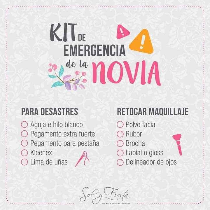 No olvides un kit que te ayudará en cualquier emergencia 1