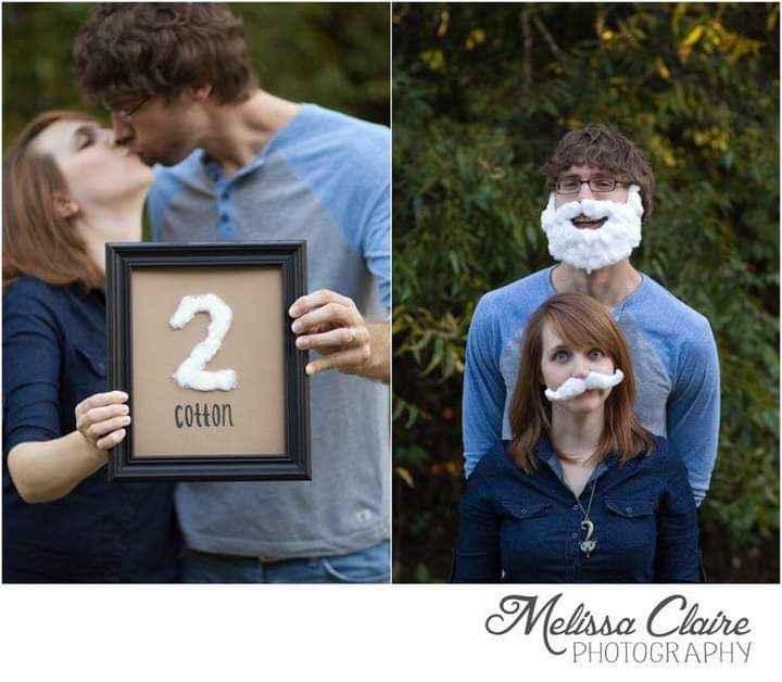 Segundo aniversario: bodas de algodón 2