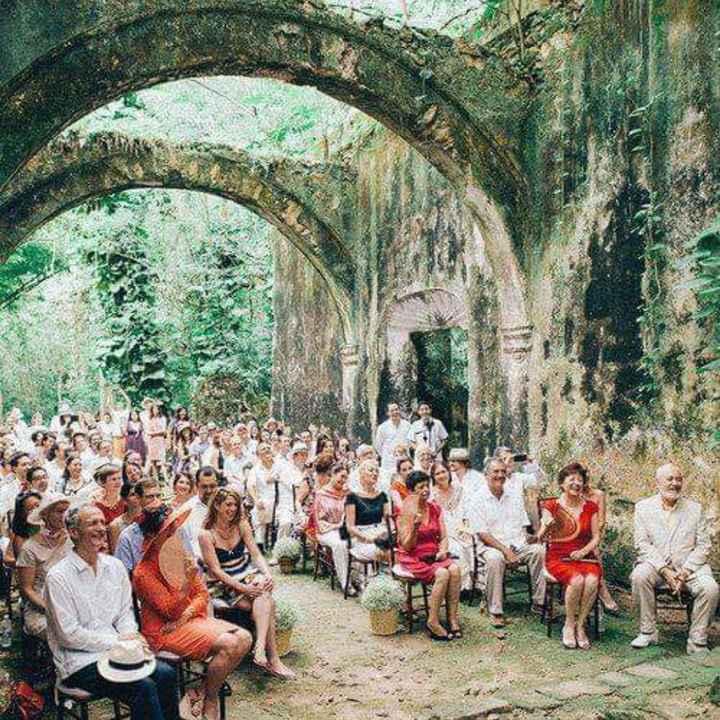 Tu ceremonia en una iglesia en ruinas - 1