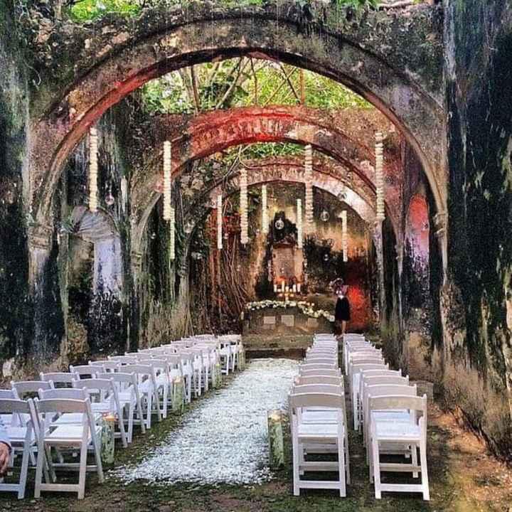 Tu ceremonia en una iglesia en ruinas - 3