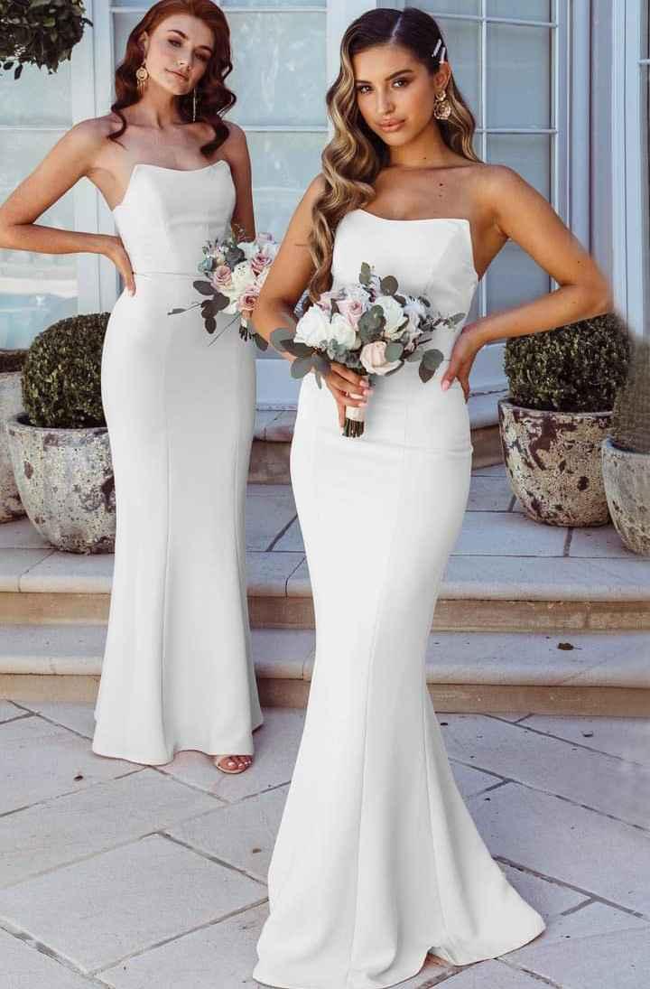 Vestidos para damas 2021 White Fox 7