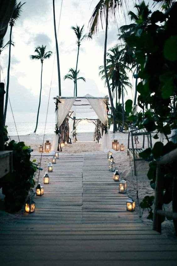 Verano: boda en playa - 8
