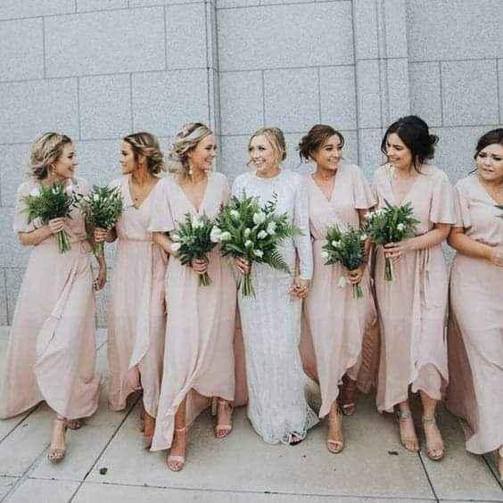 Otoño: vestidos para damas de honor 3
